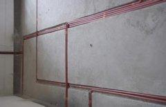 蘇州工廠墻面電路排線裝修